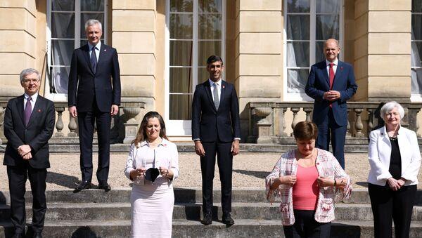 G7 finance ministers meeting in London - Sputnik International