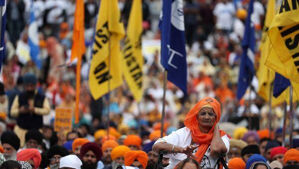 London's Sikh Community Takes to Streets in Commemoration of 1984 Golden Temple Massacre - Sputnik International
