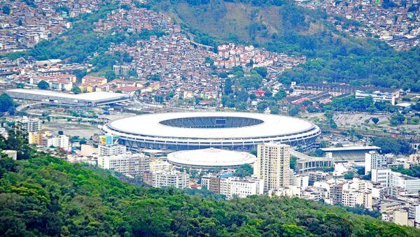 Maracana Olympic stadium in Rio de Janeiro, Brazil - Sputnik International