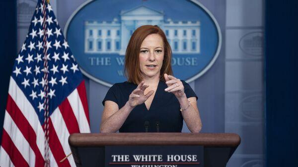 White House press secretary Jen Psaki speaks during a press briefing at the White House, Tuesday, June 8, 2021, in Washington - Sputnik International