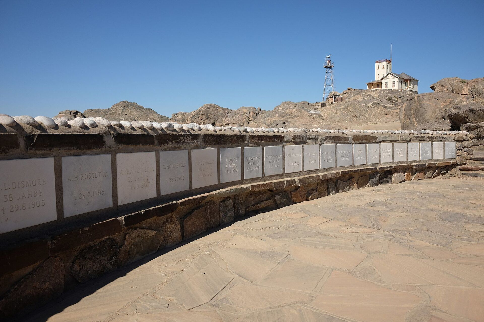 Shark Island, Lüderitz, Namibia. Formerly an island, it is now a peninsula. It was the home of the Shark Island Concentration Camp between 1905 and April 1907, as part of the Herero and Namaqua genocide of 1904–1908. - Sputnik International, 1920, 23.09.2021