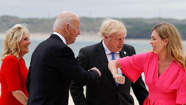 G7 summit in Cornwall - Sputnik International