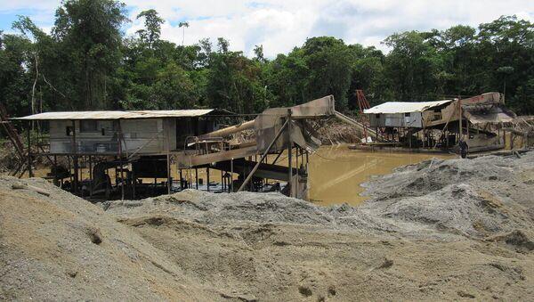 An undated photo of a coal mine in Colombia - Sputnik International