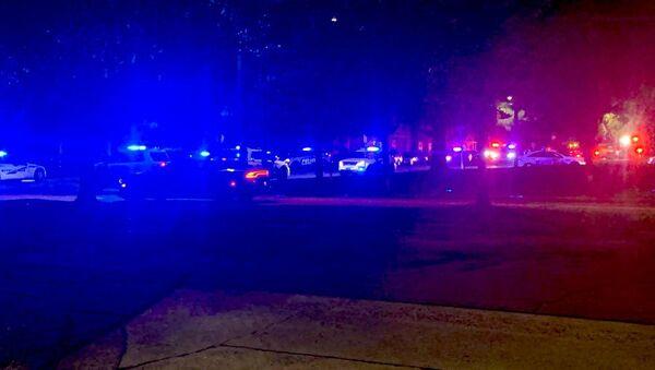A photo from the scene of the shooting in Savannah, Georgia, June 11, 2021. - Sputnik International