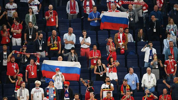 Fans at EURO 2020 - Sputnik International