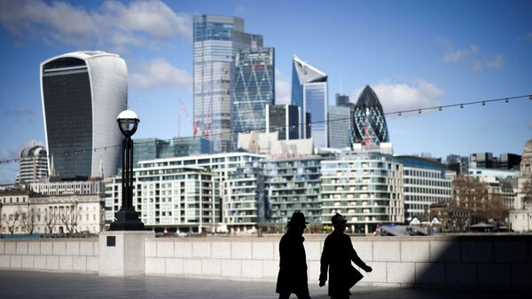 FILE PHOTO: The City of London financial district in Britain, March 19, 2021. REUTERS/Henry Nicholls/File Photo - Sputnik International