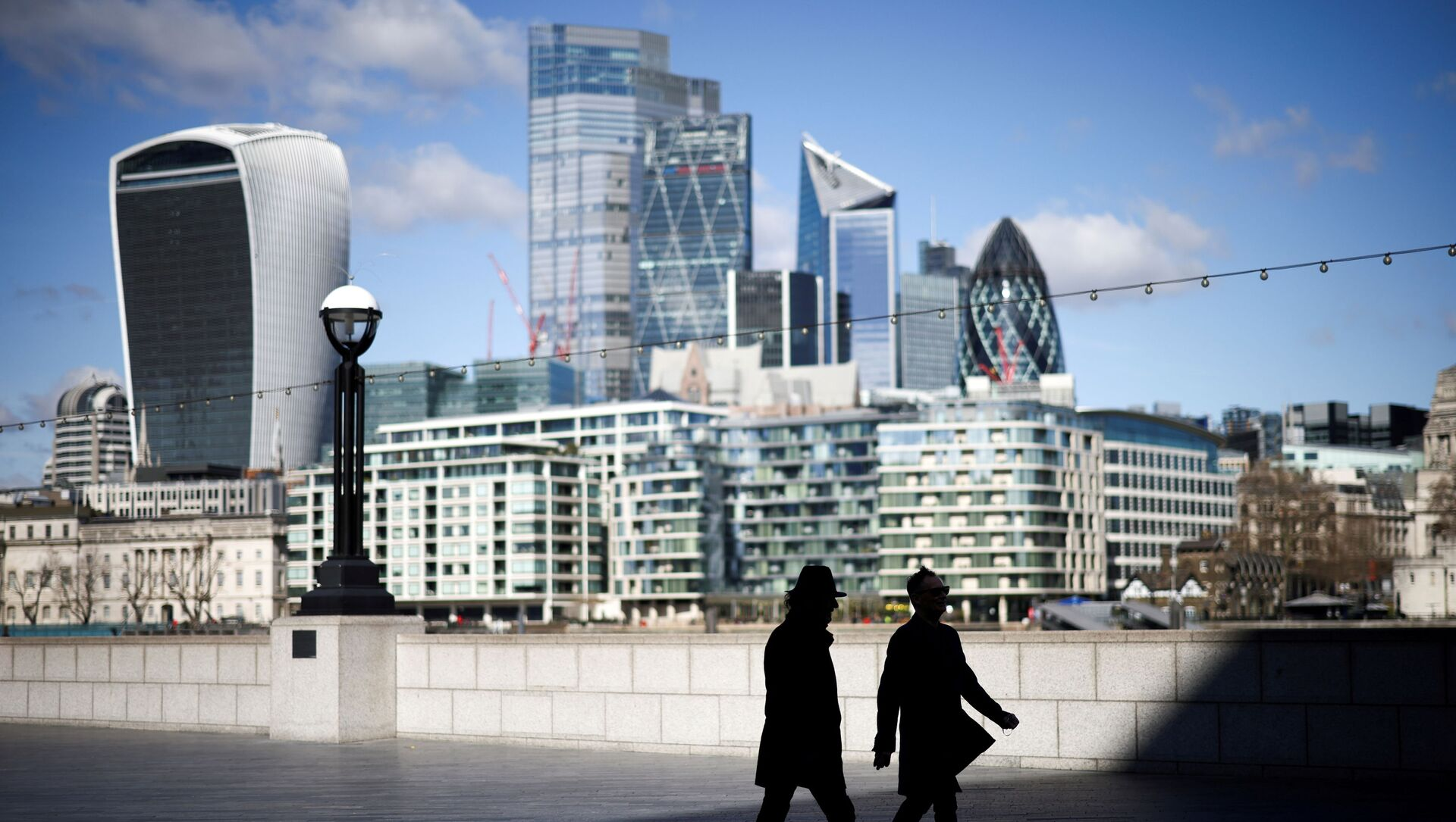 FILE PHOTO: The City of London financial district in Britain, March 19, 2021. REUTERS/Henry Nicholls/File Photo - Sputnik International, 1920, 14.06.2021