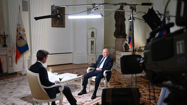 Putin's Interview with NBC. - Sputnik International