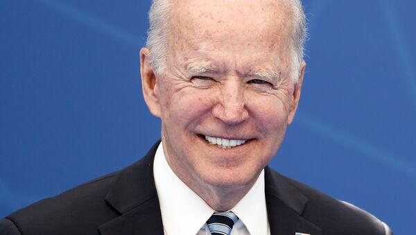 U.S. President Joe Biden attends the NATO summit at the Alliance's headquarters, in Brussels, Belgium, June 14, 2021 - Sputnik International