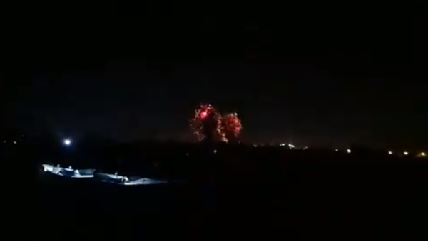 Israeli Air Force airstrikes on Yarmouk Camp, a Palestinian refugee camp in the Gaza Strip on June 16, 2021. - Sputnik International