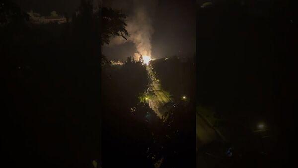Gas pipeline explosion - Sputnik International