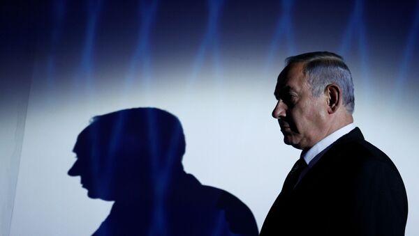 FILE PHOTO: Israeli Prime Minister Benjamin Netanyahu is seen during the the 2016 Genesis Prize award-ceremony in Jerusalem, June 23, 2016. - Sputnik International
