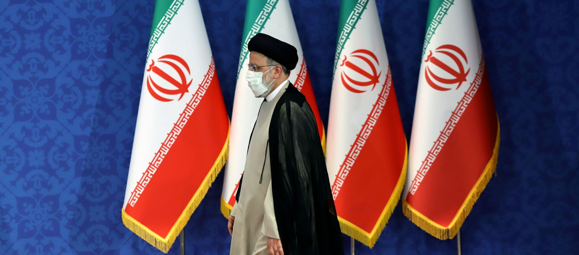 Iran's President-elect Ebrahim Raisi attends a news conference in Tehran, Iran June 21, 2021. Majid Asgaripour/WANA (West Asia News Agency) via REUTERS  - Sputnik International, 1920, 09.08.2021