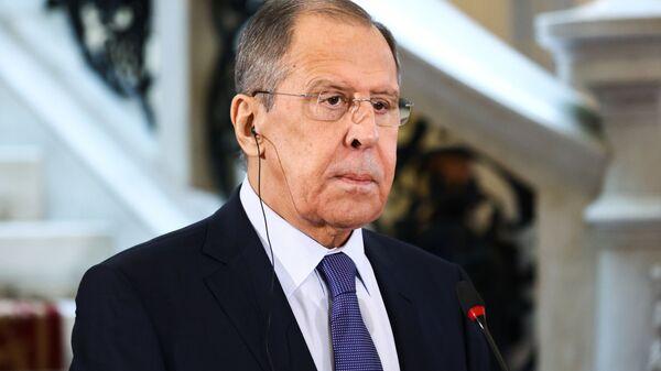 Russian Foreign Minister Sergey Lavrov (File) - Sputnik International