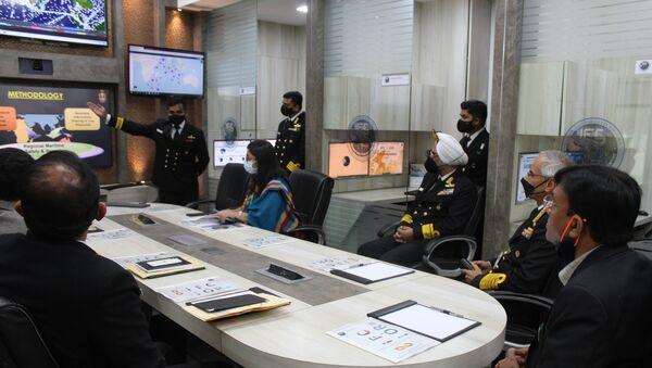 Information Fusion Centre-Indian Ocean Region. - Sputnik International