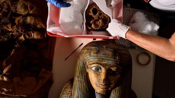 3,000-Year-Old Mystery: Secrets of Egyptian Mummy to Be Revealed - Sputnik International