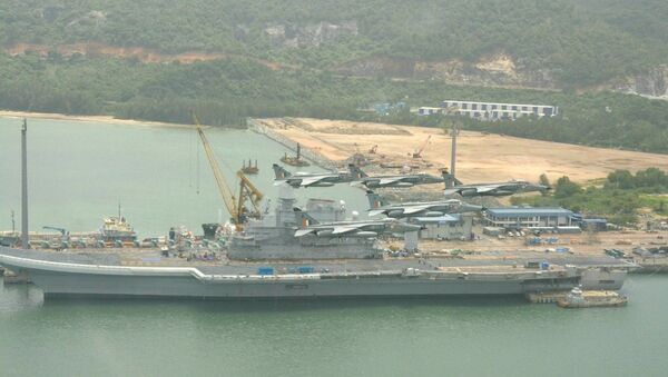 The integrated exercise of IAF & IN with US Navy Ronald Reagan CSG gets underway today - Sputnik International