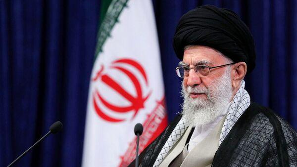 Iran's Supreme Leader Ayatollah Ali Khamenei delivers a televised speech in Tehran, Iran, 4 June 2021.  - Sputnik International