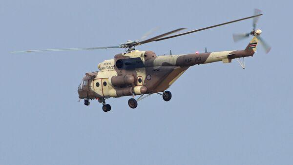 Mil Mi-171E 'KAF 1101' Kenya Air Force - Sputnik International