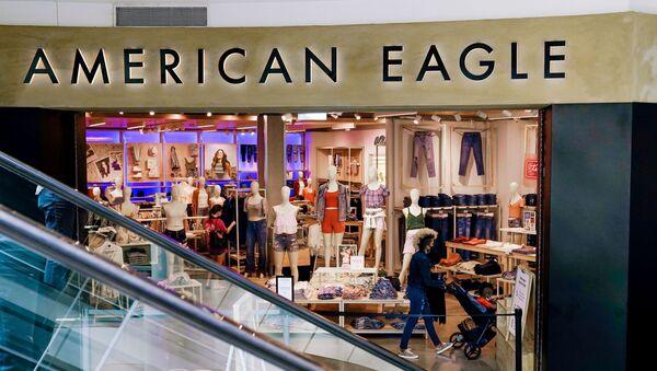 A view of an American Eagle Outfitters store in Arlington, Virginia, U.S., June 1, 2021 - Sputnik International