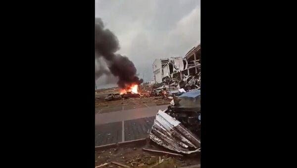 A powerful tornado hit the southeastern part of the Czech Republic on 24 June, 2021 - Sputnik International
