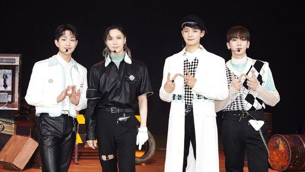 SHINee Shines in MV Teaser for 'Superstar' for Their Japanese Comeback - Sputnik International