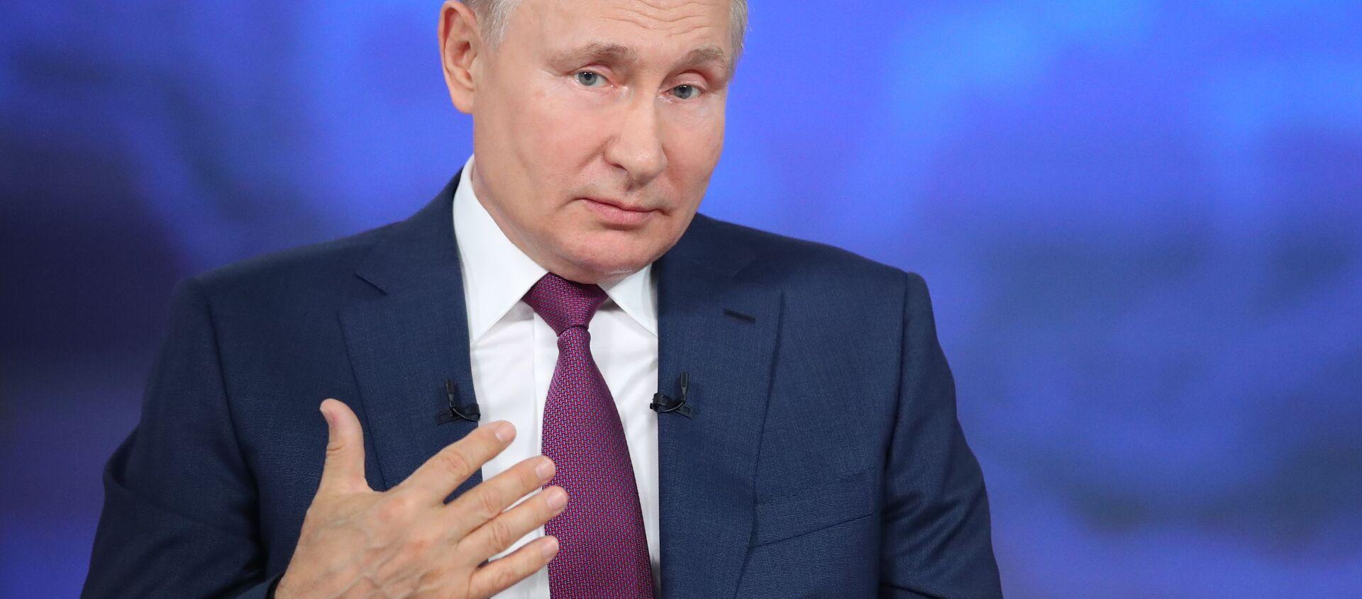 Russia Putin Direct Line - Sputnik International, 1920