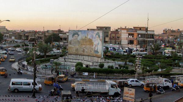 A general view of Sadrain Square, in the Sadr City district of Baghdad, Iraq June 20, 2021. Picture taken  June 20, 2021. - Sputnik International