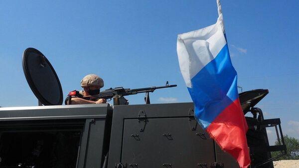 Syria Russia Patrolling - Sputnik International