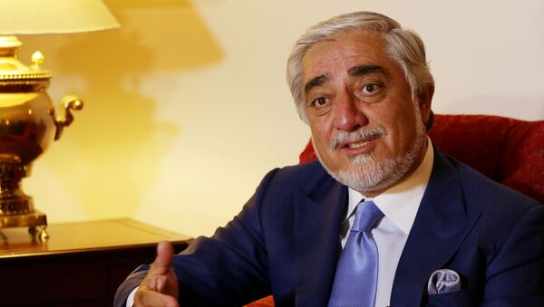 The head of Afghanistan's peace council, Abdullah Abdullah, speaks during an interview with Reuters in Islamabad, Pakistan September 30, 2020.  - Sputnik International