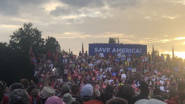 Donald Trump's  'Save America' campaign-style rally in Sarasota, Florida, 3 June, 2021 - Sputnik International