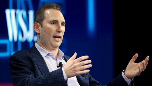 Andy Jassy, CEO Amazon Web Services, speaks at the WSJD Live conference in Laguna Beach, California, U.S., October 25, 2016. REUTERS/Mike Blake//File Photo - Sputnik International
