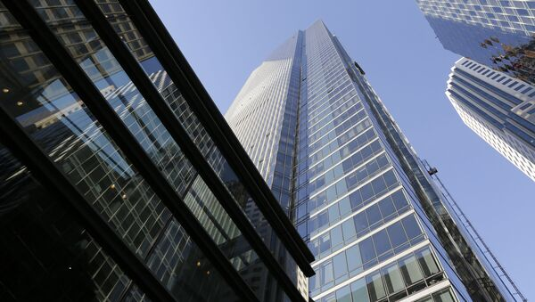 This Sept. 26, 2016 file photo shows the Millennium Tower in San Francisco. San Francisco building officials have issued another violation against the sinking Millennium Tower after city-ordered inspection crews found another cracked window. KNTV of San Jose reported Tuesday, Oct. 23, 2018, the latest cracked window was found during an inspection last week. The television station first reported a window cracked unexpectedly on the 36th floor of the troubled high-rise over Labor Day. (AP Photo/Eric Risberg, File) - Sputnik International