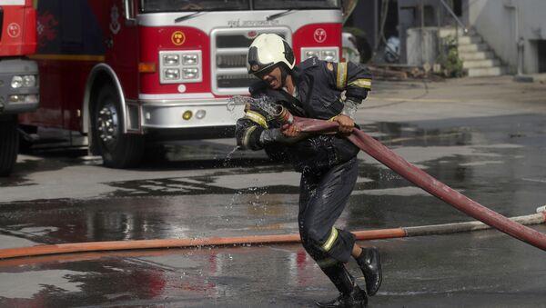 An Indian firefighter (File) - Sputnik International