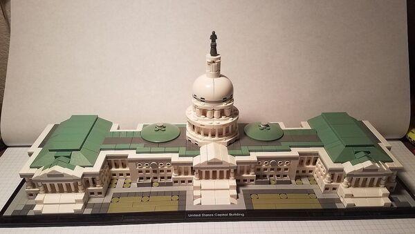Lego Architecture US Capitol - Sputnik International