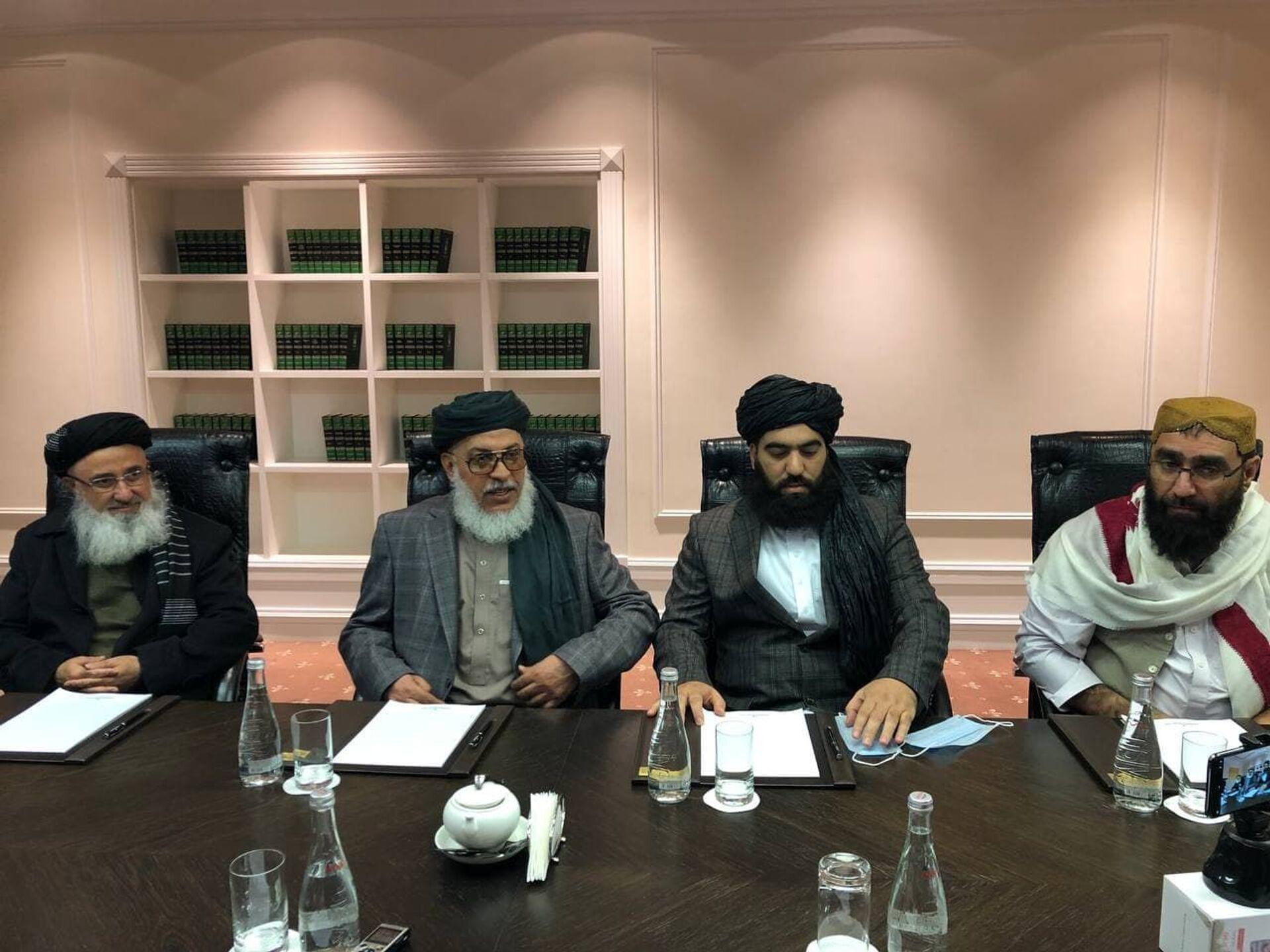 A delegation of the Taliban movement - Sputnik International, 1920, 07.09.2021