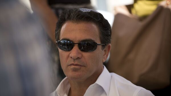 In this Sunday, July 3, 2016. photo, Yossi Cohen, director of Mossad, Israel's state intelligence agency, attends the funeral of Miki Mark who was killed in an shooting attack in the West Bank Friday, in Jerusalem. - Sputnik International