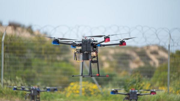 Israeli surveillance drone. - Sputnik International