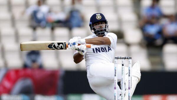 Cricket - ICC World Test Championship Final - India v New Zealand - Rose Bowl, Southampton, Britain - June 23, 2021 India's Rishabh Pant in action - Sputnik International
