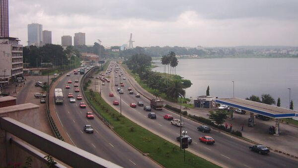 Abidjan, Plateau - lagune Ébrié - Sputnik International