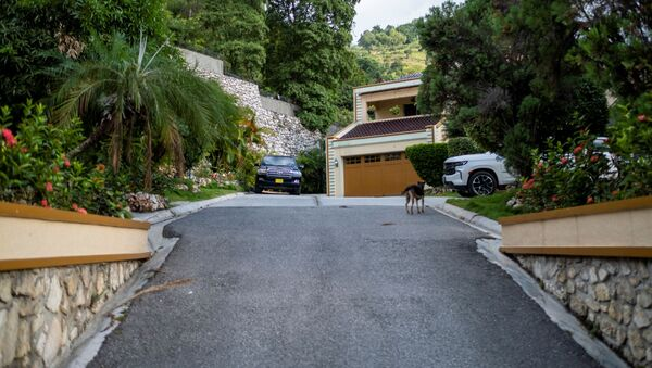 The residence of late President Jovenel Moise is seen after FBI agents assisted with investigations inside the property in Port-au-Prince, Haiti, July 15, 2021. - Sputnik International