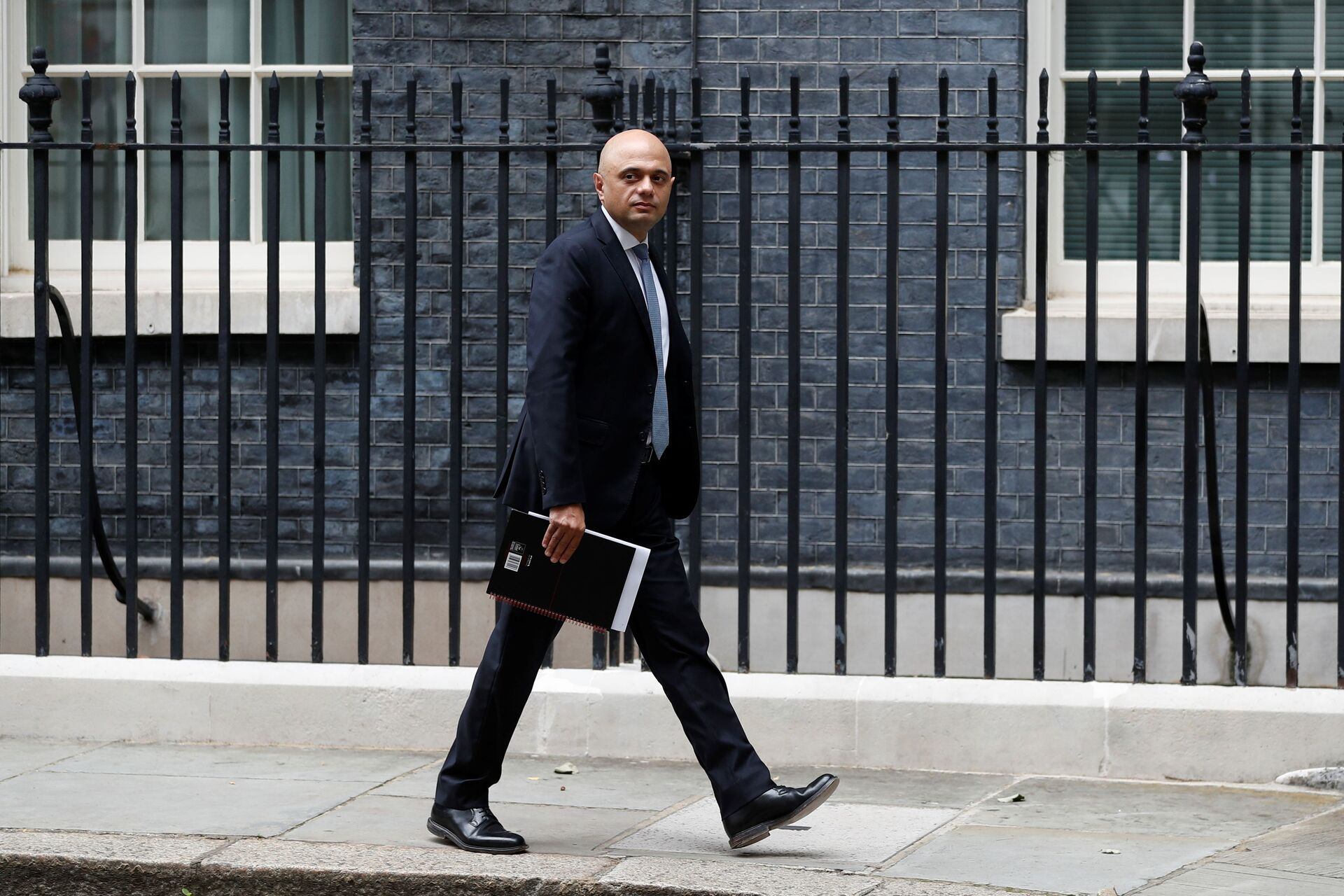 Britain's Health Secretary Sajid Javid walks on Downing Street in London, Britain, July 14, 2021 - Sputnik International, 1920, 07.09.2021