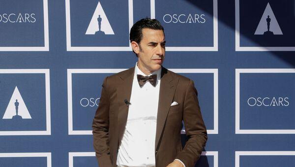 Sacha Baron Cohen arrives to attend a screening of the Oscars, in Sydney, Australia, April 26, 2021 - Sputnik International