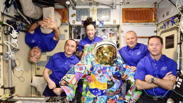ISS crew - Sputnik International