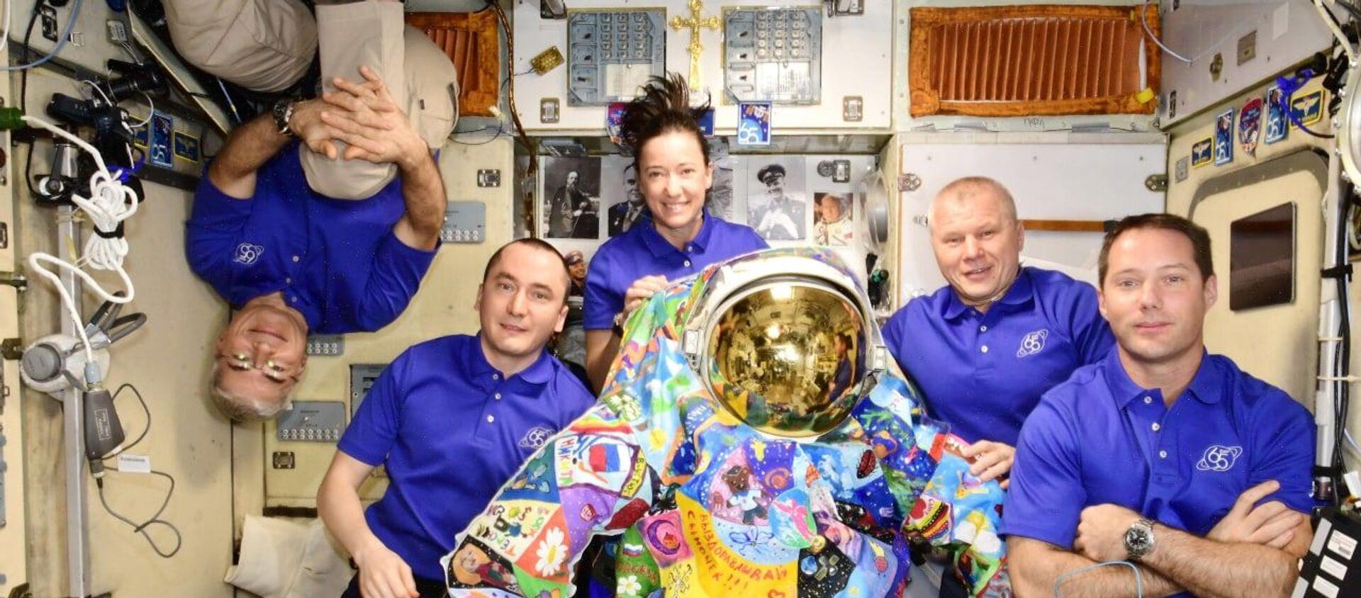 ISS crew - Sputnik International, 1920, 19.07.2021