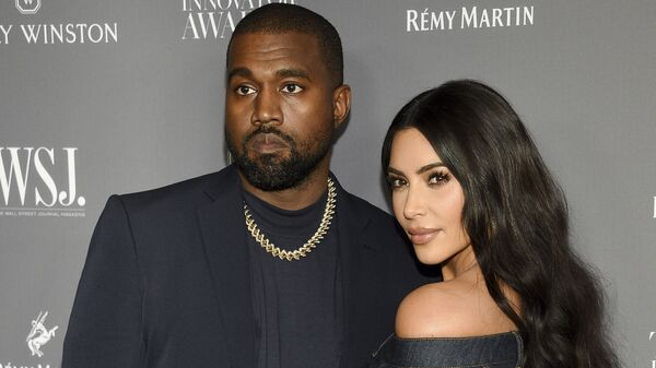 Kanye West, left, and Kim Kardashian attend the WSJ. Magazine Innovator Awards on Nov. 6, 2019, in New York. Kim Kardashian West filed for divorce Friday, Feb. 19, 2021, from Kanye West after 6 1/2 years of marriage. - Sputnik International