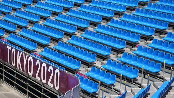 Tokyo, Japan - July 21, 2021 Empty seats are seen during training  - Sputnik International