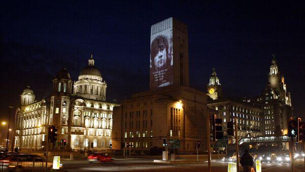Liverpool's historic waterfront after dark - Sputnik International