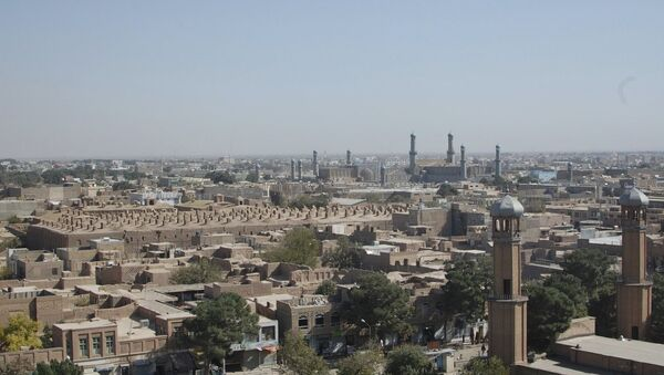 Skyline, Herat, Afghanistan - Sputnik International