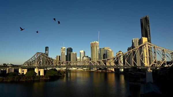 A view of the city skyline of Brisbane, Australia on 4 July 2021. - Sputnik International